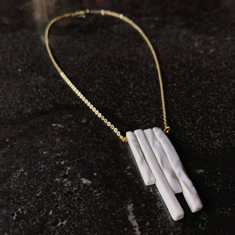 Porcelain Bar Pendants