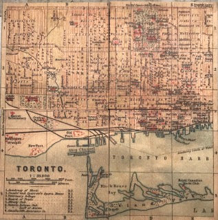 "Clearance: ""Toronto Street"" 4 pc. Coaster set"