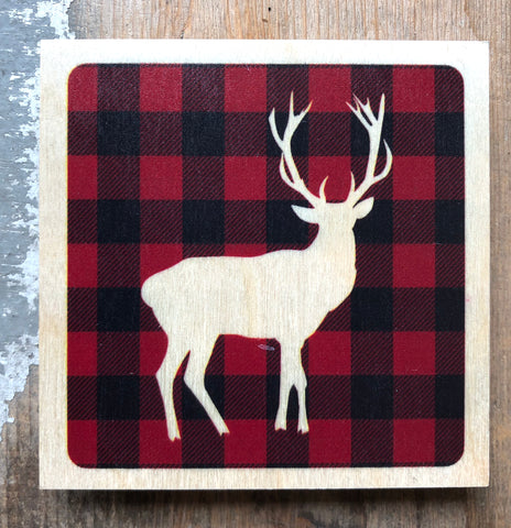 Plaid Deer