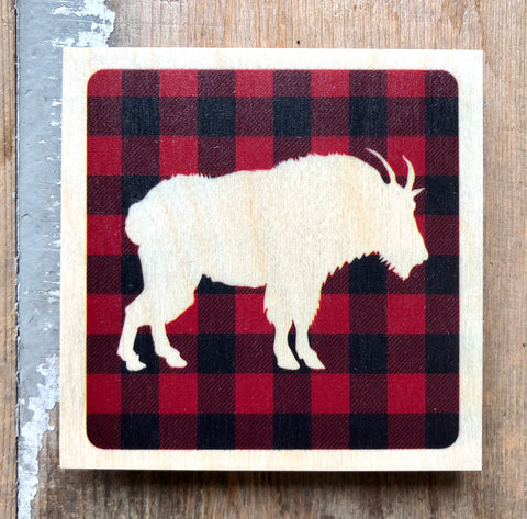 Plaid Mountian Goat