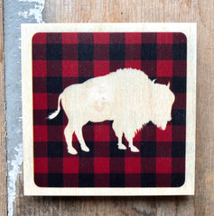 Plaid Bison