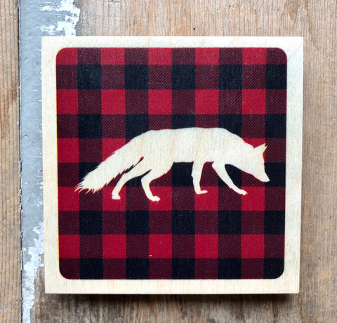 Plaid Fox