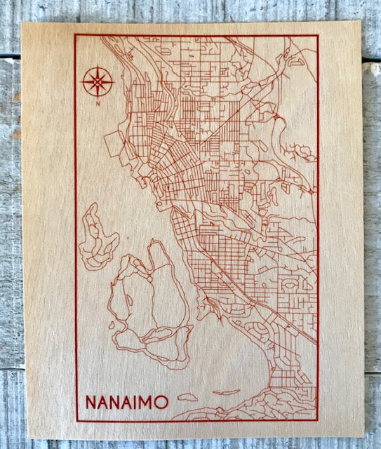 Nanaimo Map