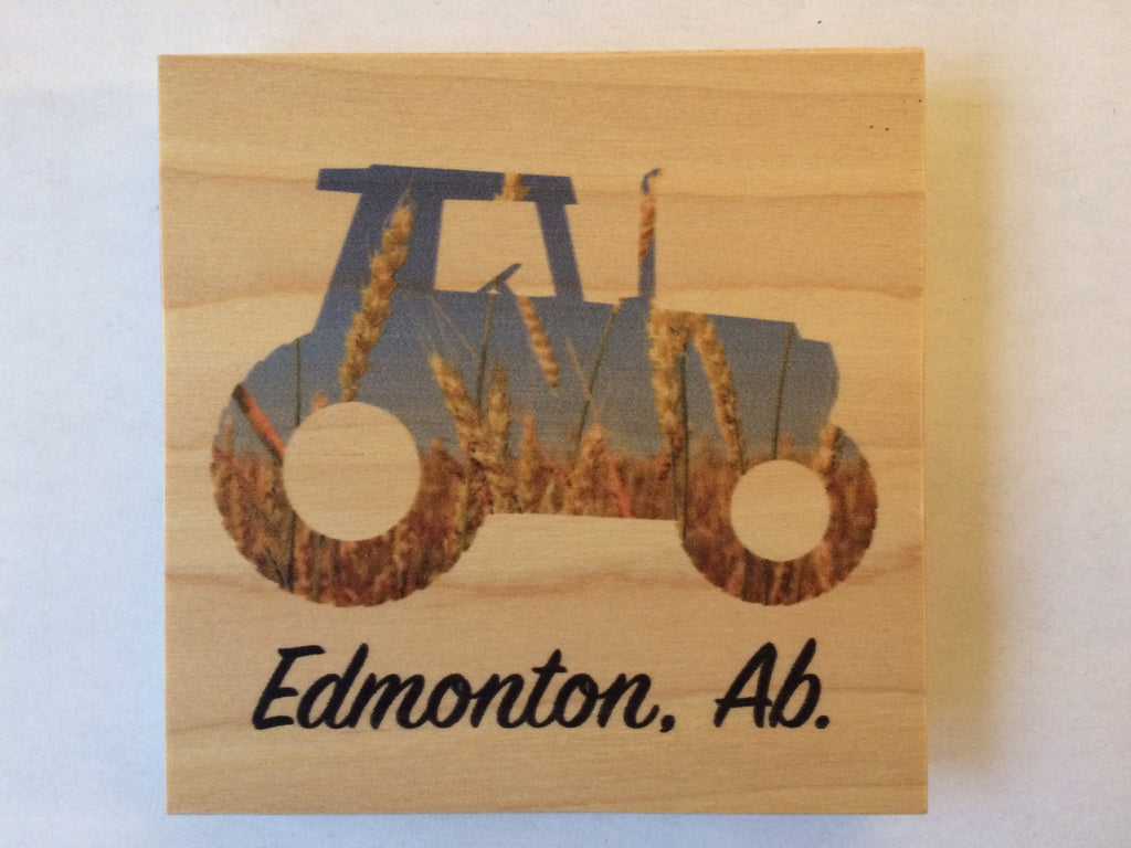 Edmonton Wheat Tractor