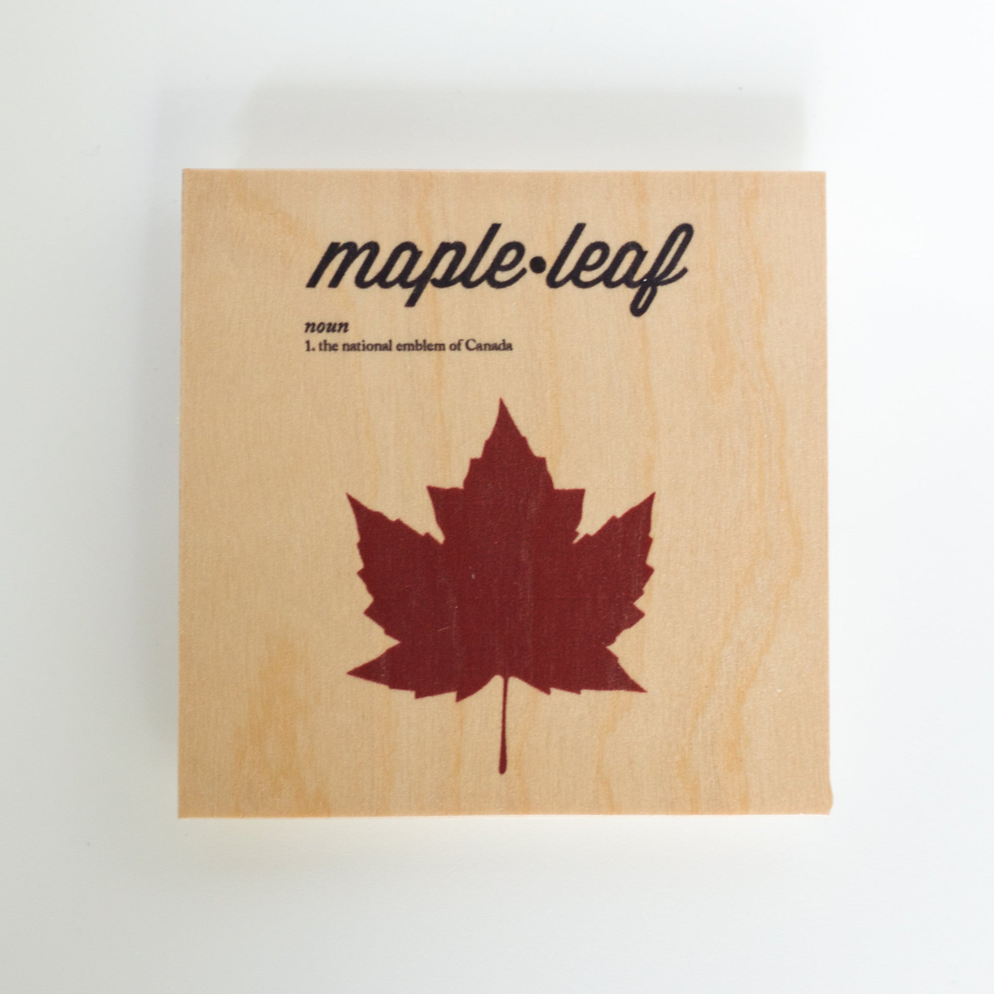What does the maple leaf mean to canada