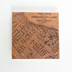 Vancouver City Street Map