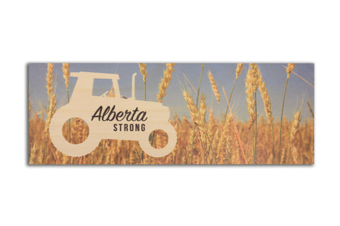 Alberta Strong Tractor