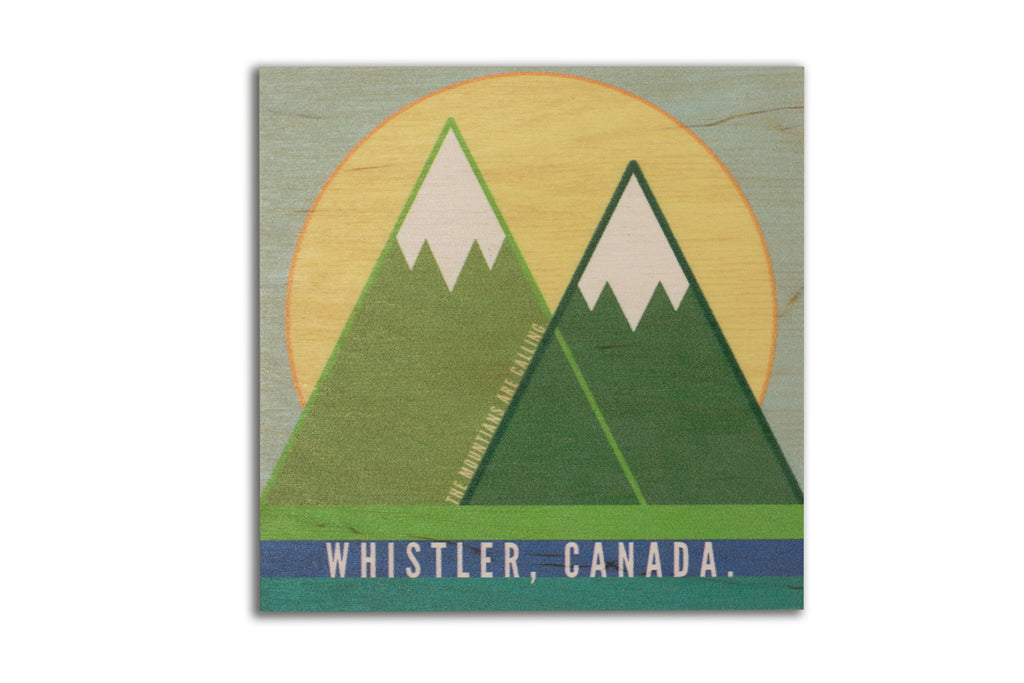 2 Mountains - Whistler