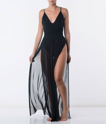 You See Right Through Me Maxi Dress