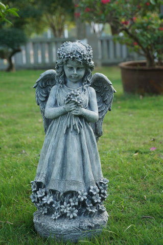Blissful Angel Statues to emulsify the beauty & Cool Interiors & Exteriors