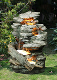 Create a Personal Sanctuary with a Zen Waterfall Fountain