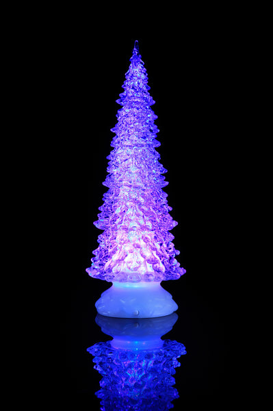 Sparkle Tree with Water Inside, Height 12.5""