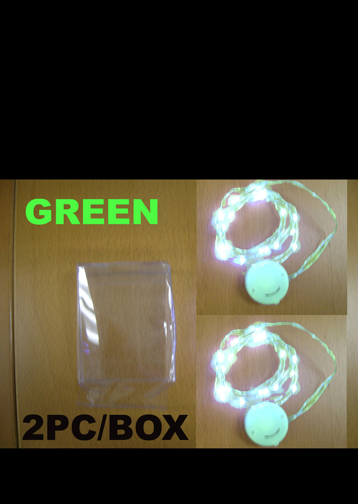Mini Green LED String Lights