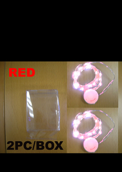 Mini Red LED String Lights