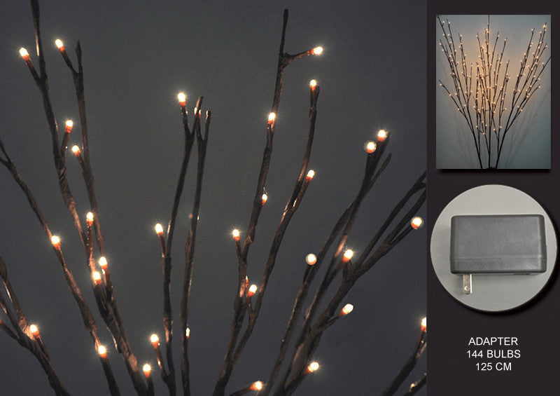 FLORAL LIGHTS-WILLOW BRANCH AC-144L-2pc min & up