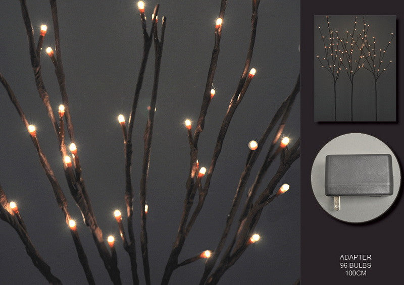 FLORAL LIGHTS-WILLOW BRANCH AC-96L,100CM-2pc min & up
