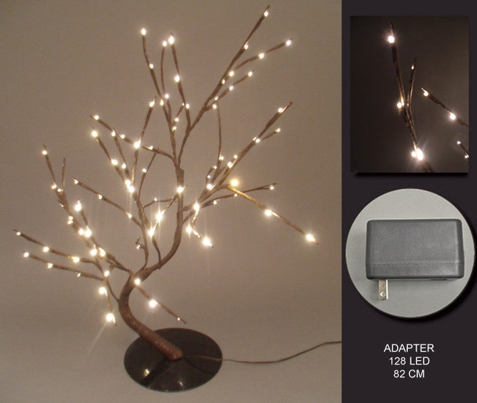 FLORAL LIGHTS-WILLOW BONSAI TREE AC-128LED