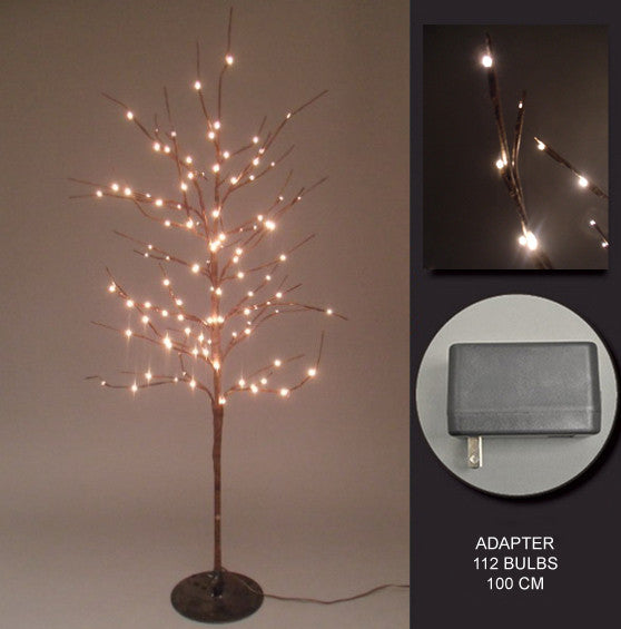 FLORAL LIGHTS-TREE W/112 RICE LIGHTS AC-NOT LED