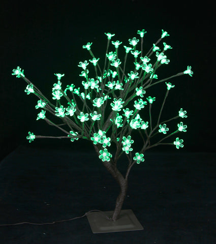 Table Top Bonsai with LED Flowers 21""