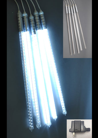 White LED Meteor Lights 60cm