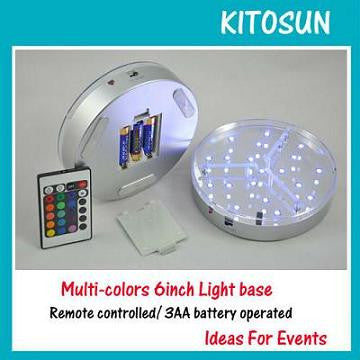 6 INCH RGB LED BASE LIGHT