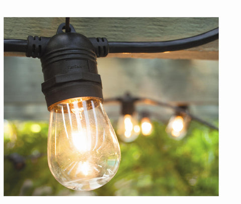 Vintage Patio Lights with Edison Light Bulbs - Style 2