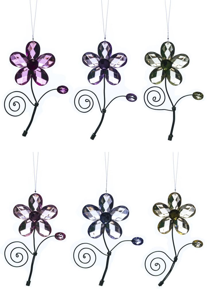 Daisy Flower Acrylic Suncatchers