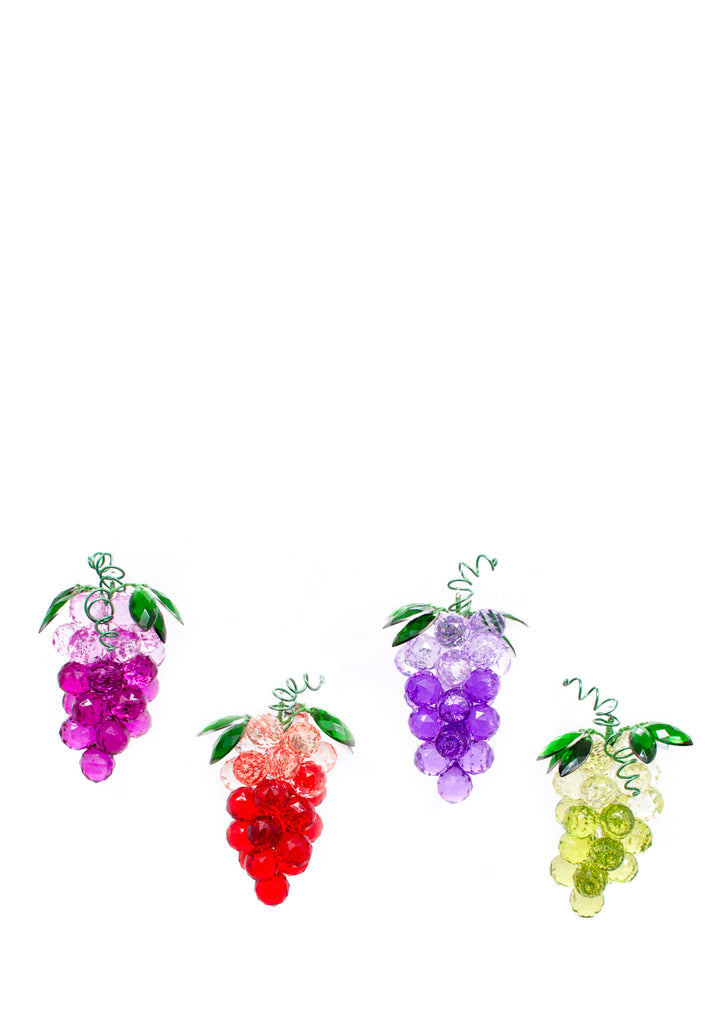 Grape Bunches Acrylic Suncatchers