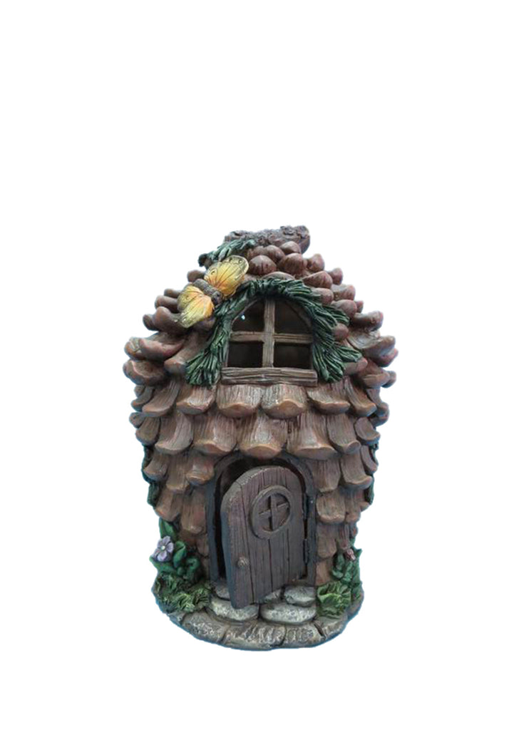 Fairy Garden Pinecone House