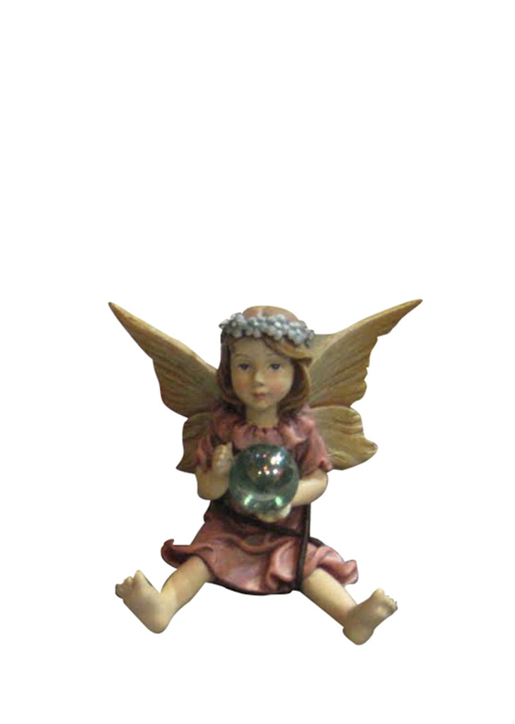 Miniature Fairy Girl with Crystal Ball