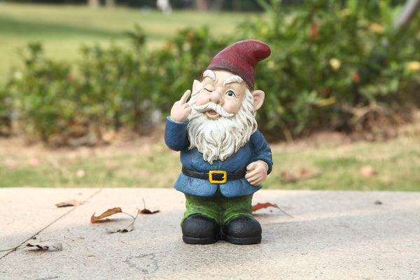 Gnome In Garden: Large Garden Gnomes For Sale, Order Online In USA & Canada