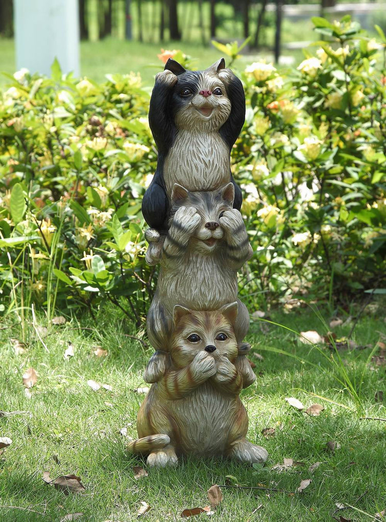 Stacking Cats-Hear/See/Speak No Evil
