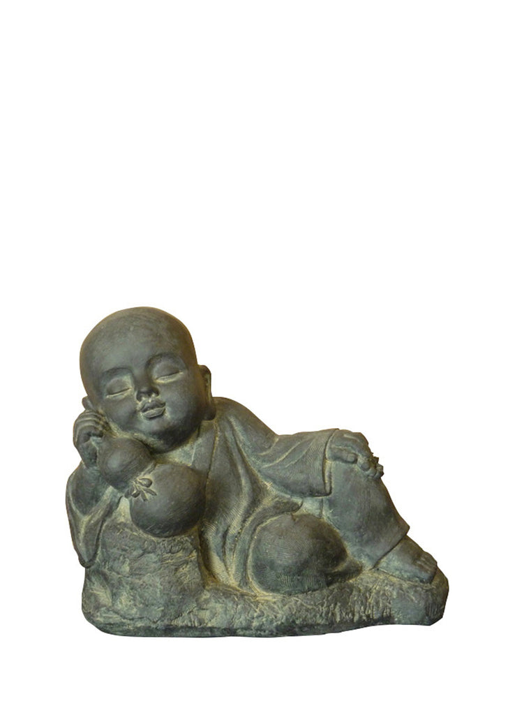 Young Resting Buddha Garden Statue