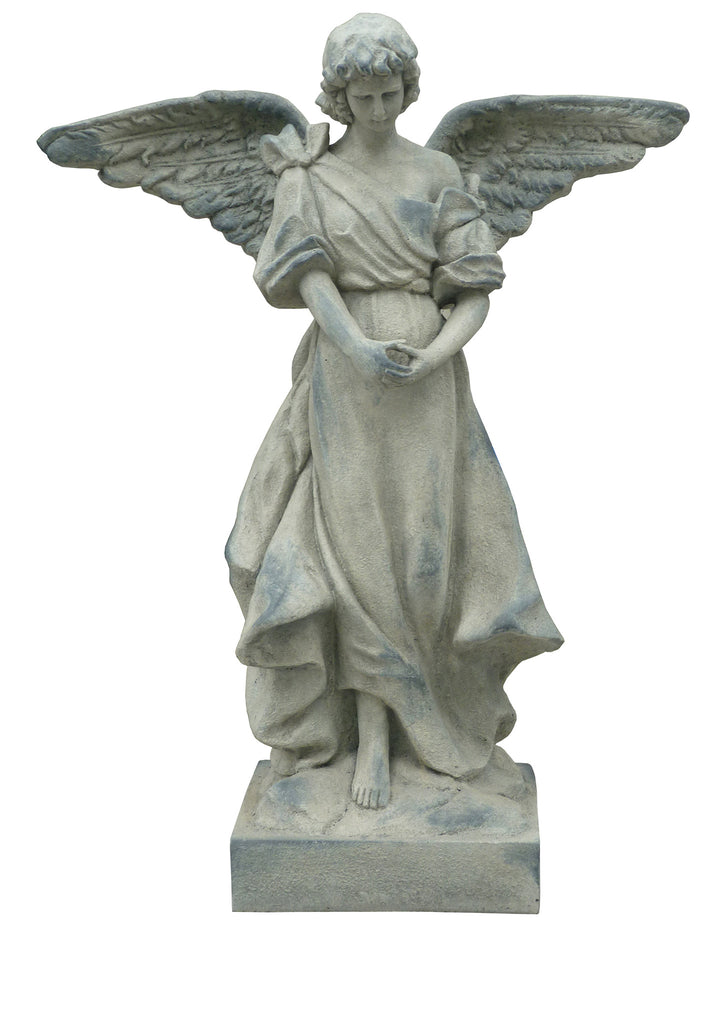 Angel Garden Statue Standing in Prayer - Small