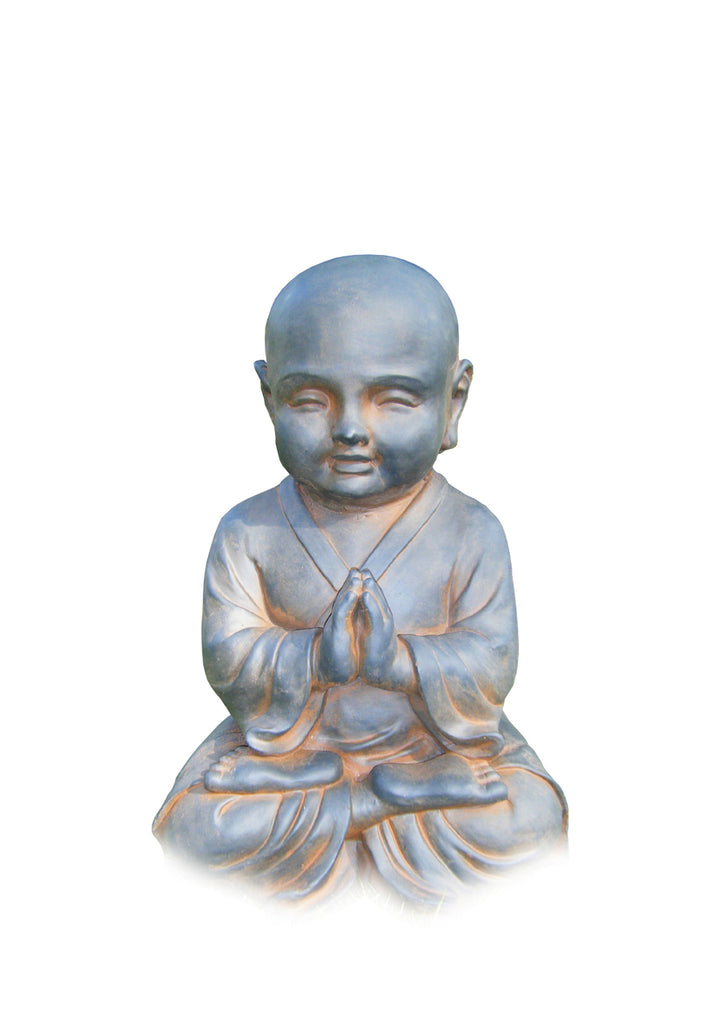 Praying Child Buddha Garden Statue