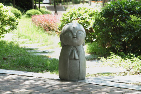 Lucky Japanese Jizo Praying