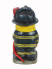 Light Torch Fireman Gnome with Hose - Solar LED