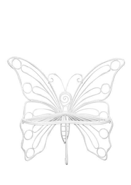 Butterfly Garden Chair - White