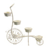 Metal Plant Stand-Ferris Wheel with 8 Planters