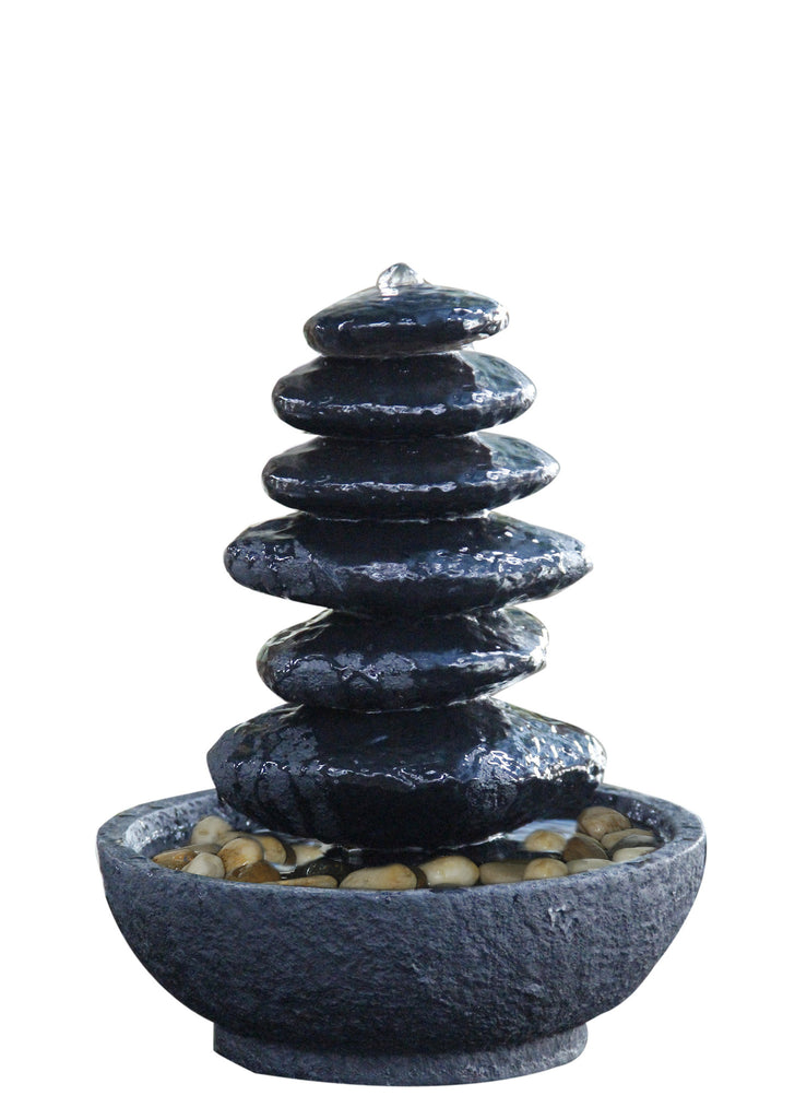 Balanced Rocks Table Top Fountain