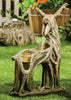 Carved Deer Waterfall Fountain