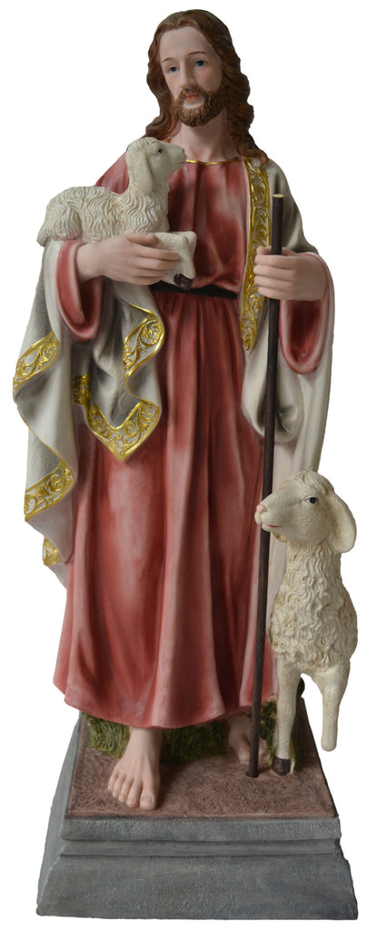 Figurine-Jesus with Sheep