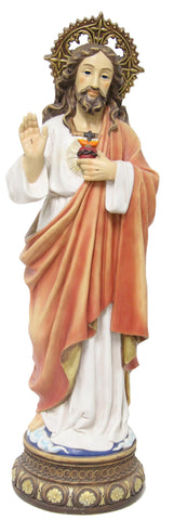 Jesus Sacred Heart Statue 24 Inch Tall