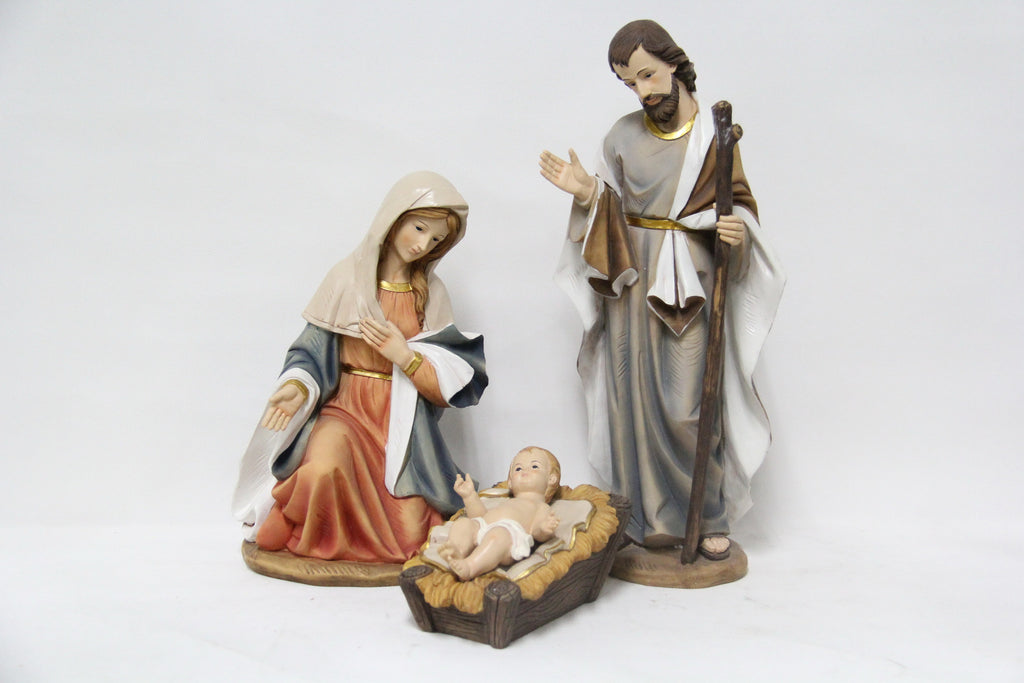 "Nativity - Three Piece Set 16"" H"