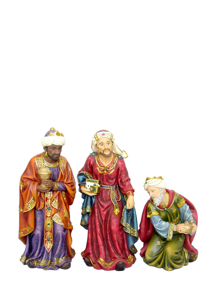 Three Wise Men Nativity Statues 18""