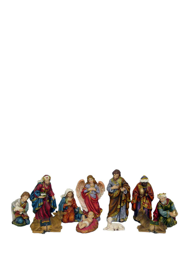 Nativity Set with Three Wise Men 11 Pieces 8""