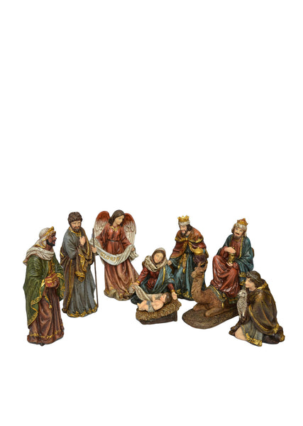 Nativity Set with 8 Pieces 12""