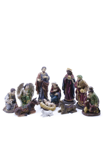 Nativity Set with Three Wise Men 11 Pieces 12""