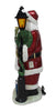 Santa Lamp Post with LED 36.75 Inch High