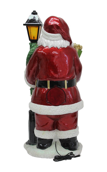 Christmas IFLOVE Christmas String Lights LED 10ft Santa Head Christmas Hat Bell Tree Decorative Lights Indoor Outdoor Lights with Dimmable Remote Control Timer for Thanksgiving Halloween Garden